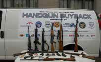 Handgun Buyback - some of the weapons that were collected