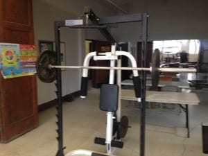 Weightlifting Donation