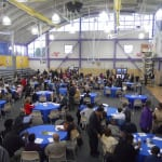 A large crowd was on hand at the Cleveland Job Corp Campus to honor both officers, and citizens, at the Fifth District Police Community Relations Award Ceremony.