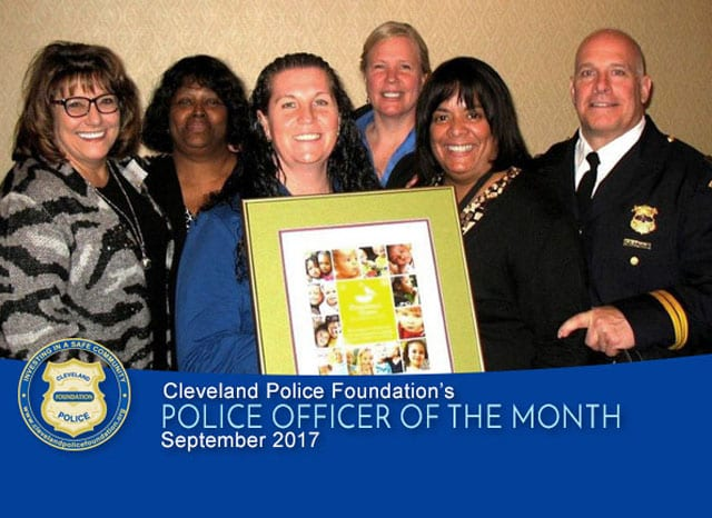 September 2017 Police Officers of the Month