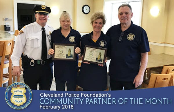 Feb 2018 Community Partner Honorees