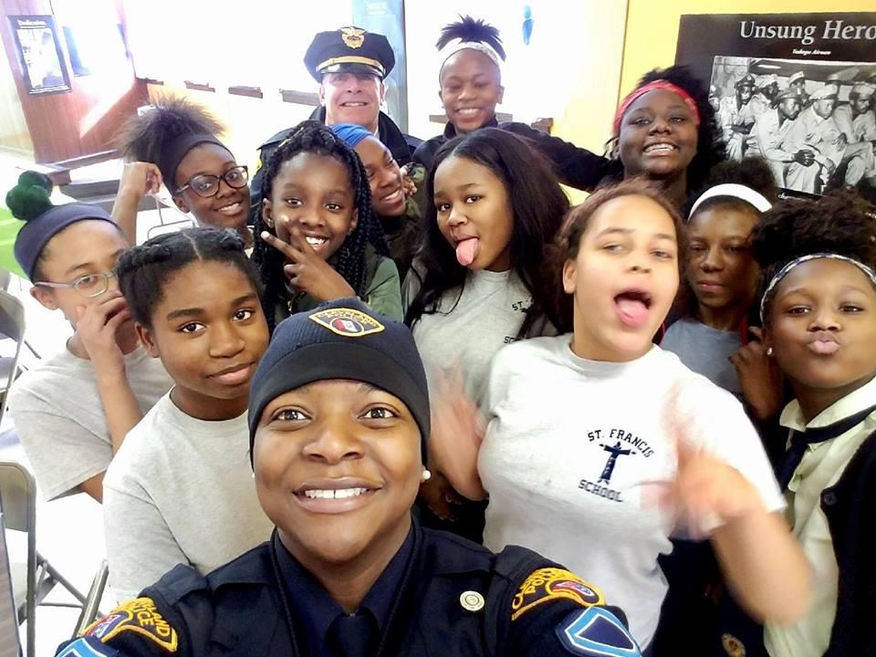 Officer appreciation day