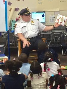 There is nothing like spending some time reading and talking safety with 30 some kindergarteners! Community Policing engages our most precious assets, our children. This event was at Harvey Rice Elementary School.