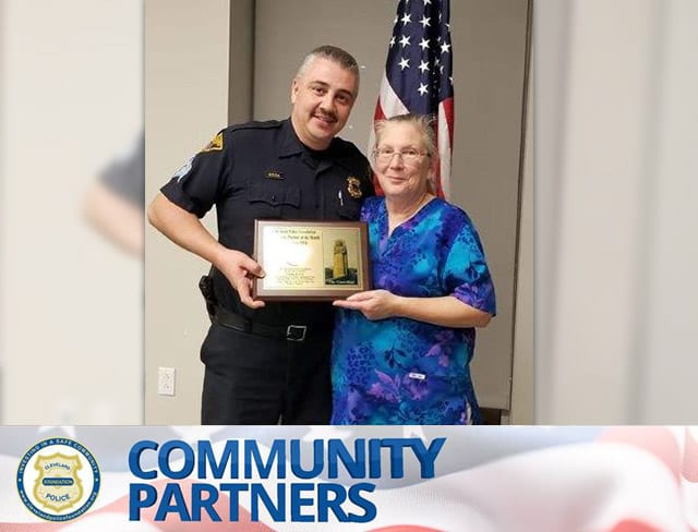 November 2018 Cleveland Police Foundation Community Partner Linda Lewis