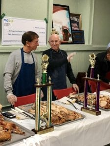 Volunteers at St. Augustine Thanksgiving 2018