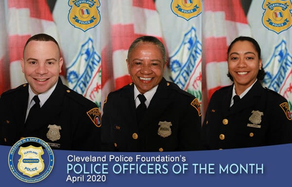 April 2020 Police Officers of the Month